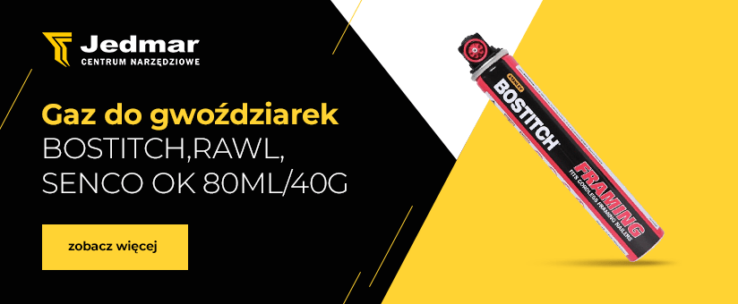Gaz do gwoździarek baner
